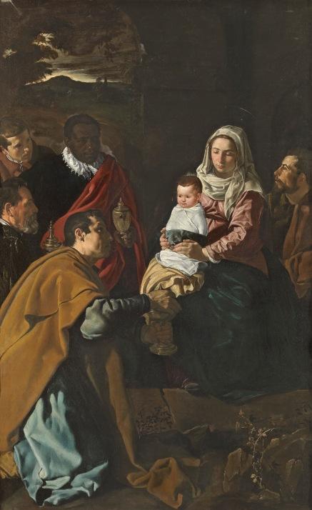 Adoración de los Reyes Magos. 1619. Diego Velázquez. Museo Nacional del Prado