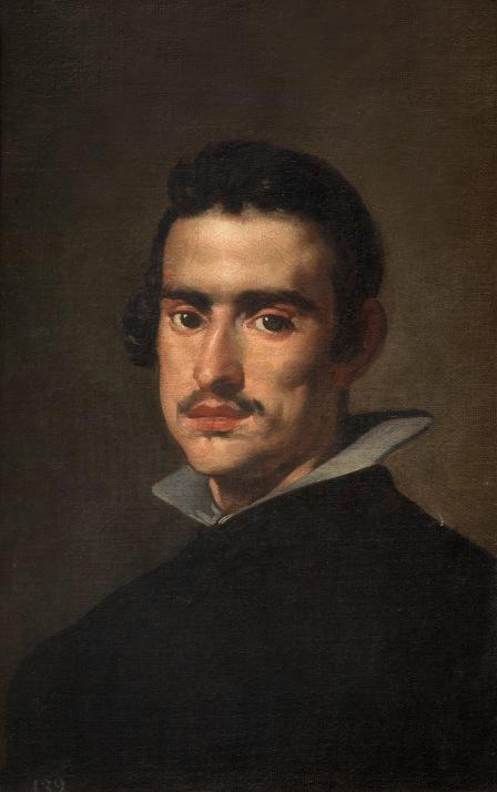 Retrato de hombre. H. 1623. Diego Velázquez. Museo Nacional del Prado
