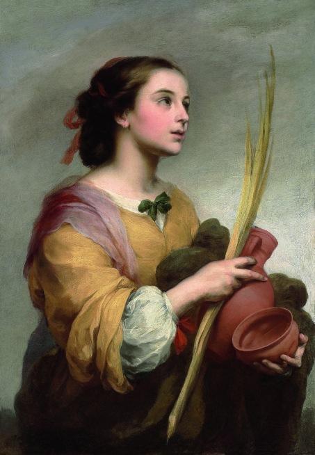 Santa Justa. 1665. Bartolomé Esteban Murillo. Meadows Museum.