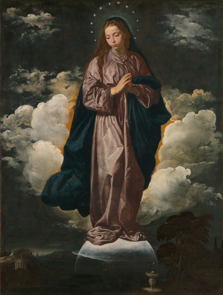 Inmaculada Concepción. H. 1618. Diego Velázquez. The National Gallery
