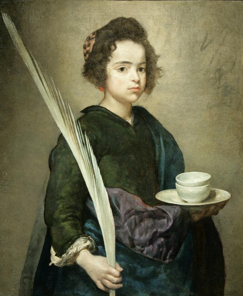 Santa Rufina. 1629-1632. Diego Velázquez. Fundación Fondo de Cultura de Sevilla (Focus)
